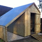 Timberpro Timber Constructed Garden Office Workshop Garage